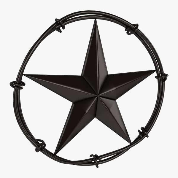 3d max star barbed