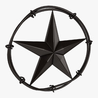 3d max star barbed
