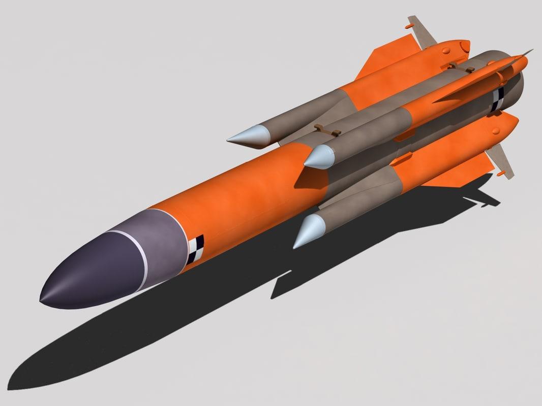 3d model ma-31 kh-31a