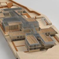 3d building school sport