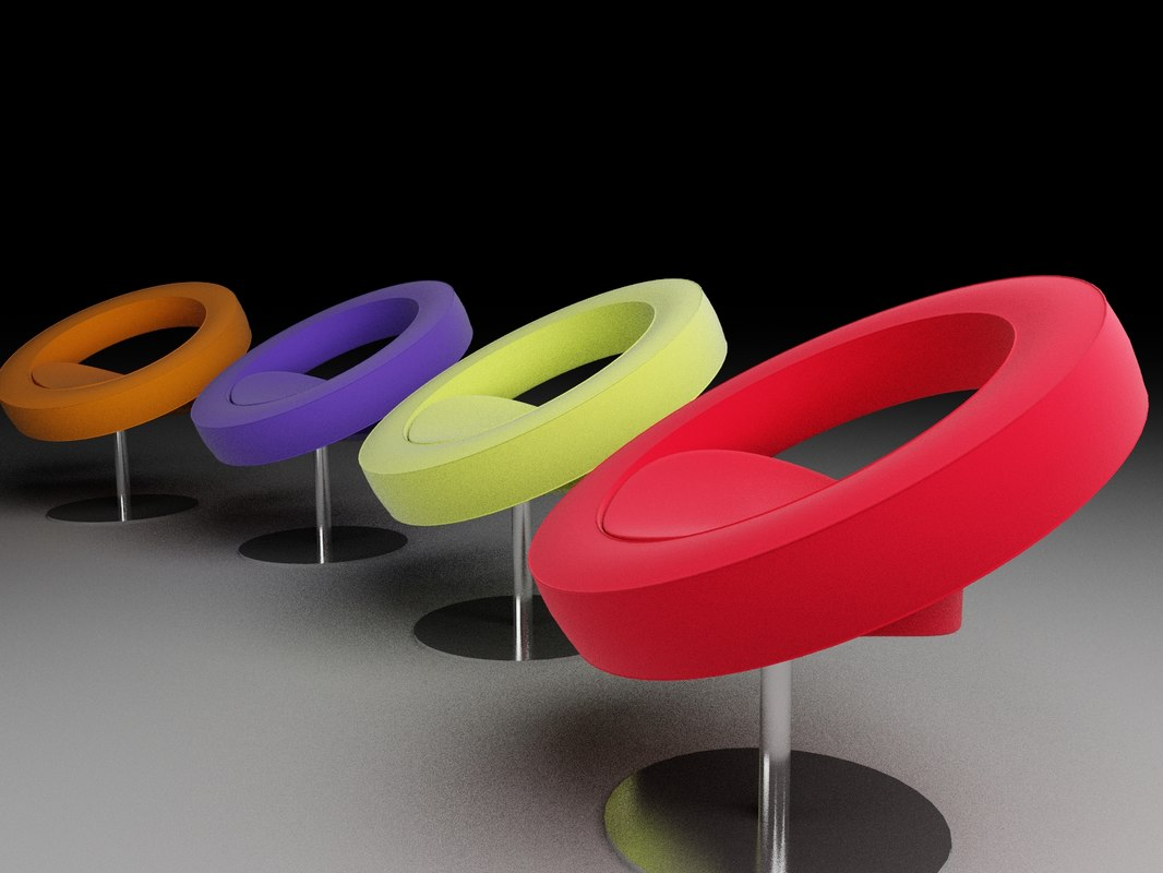 3ds max softline hello chair