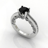 Diamond Ring 4 Prong