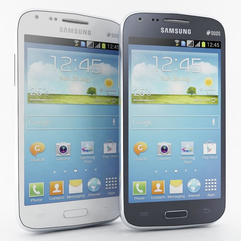 samsung galaxy core i8260 3d model