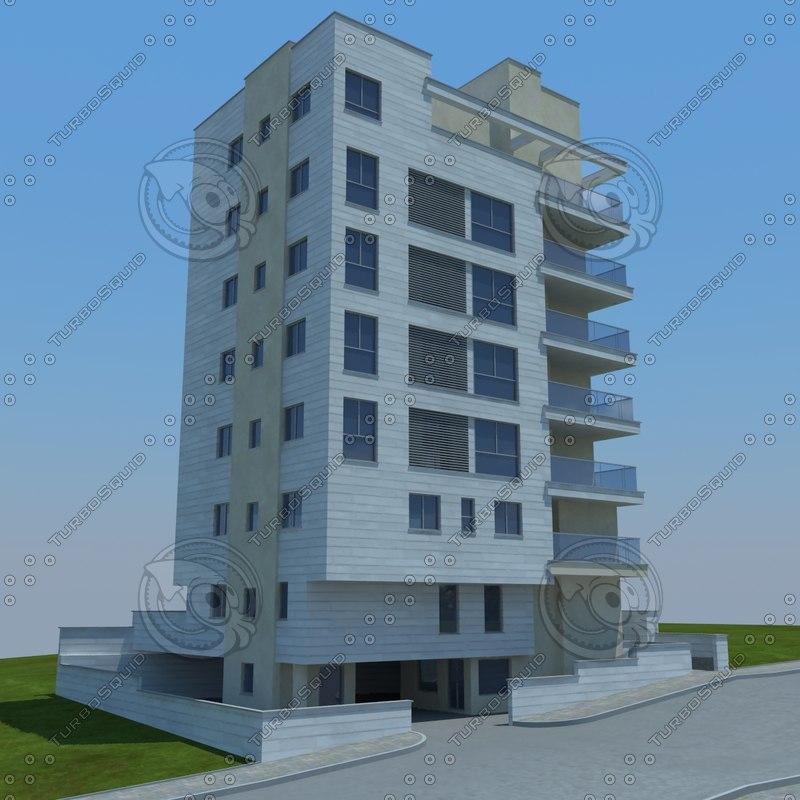 3d buildings 1 7 model
