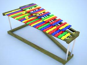 model xylophone
