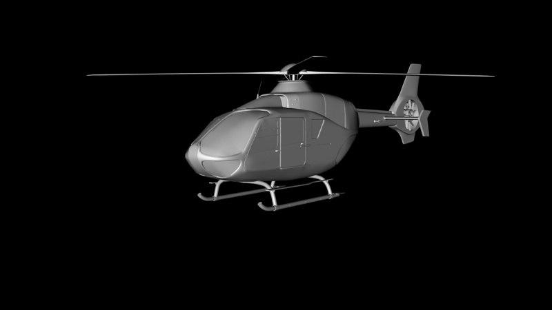 c4d eurocopter ec 135