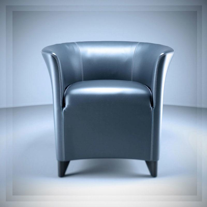 3d auriana armchair model