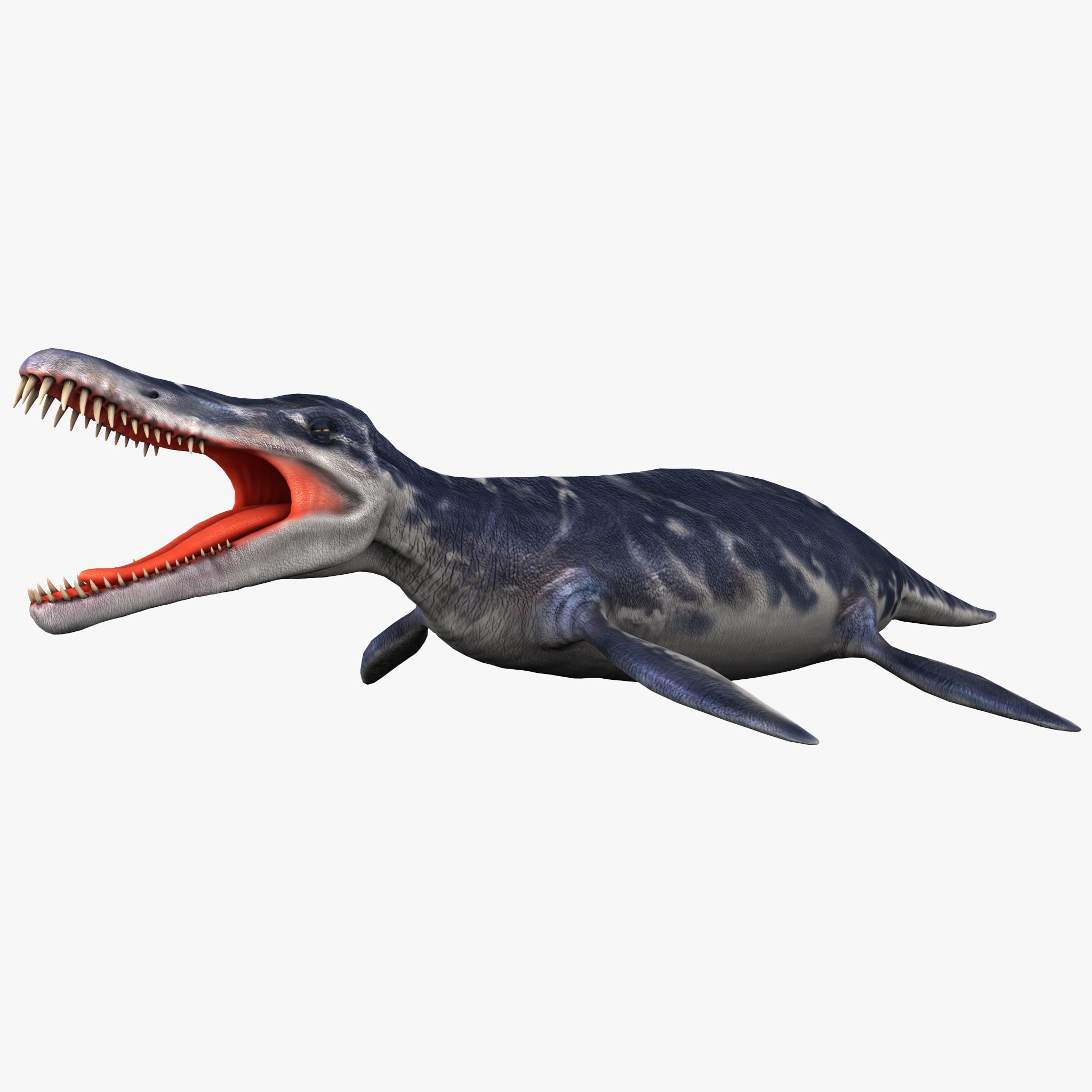 kronosaurus dinosaur modeled max