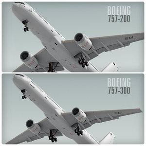 boeing 757 3d c4d