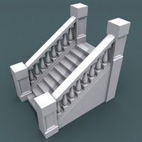 stairs staircases 3d model