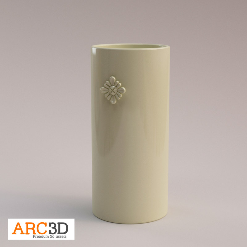 free max mode porcelain vase