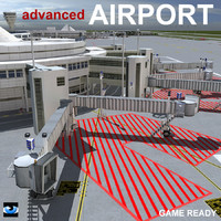 3d model advanced airport