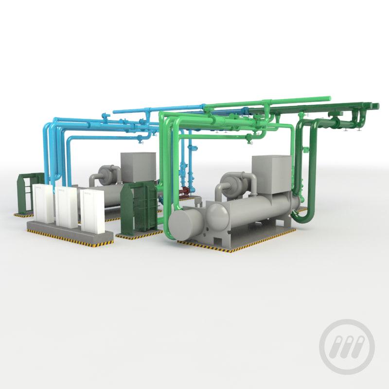 maya chiller pump industrial