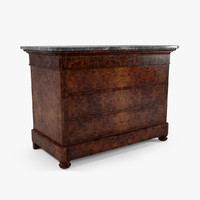 Louis Philippe French Dresser (Commode)