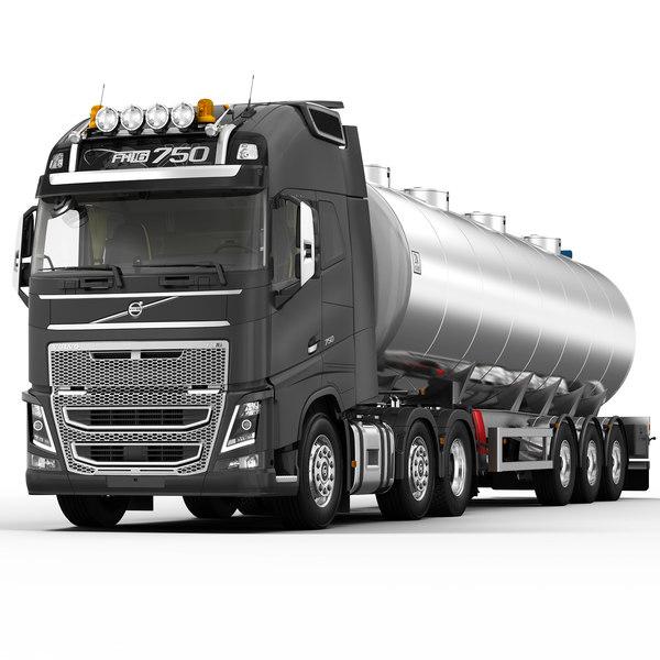 fh 2013 fuel tank 3d max