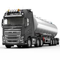 VOLVO FH 2013 (Fuel tank)