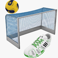3d model handball equipment ball