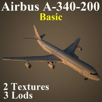 3d model airbus basic