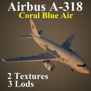 3d airbus kbr model