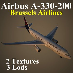 airbus dat 3d model