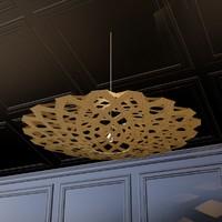 3d model flax lamp