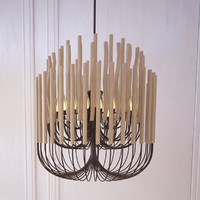woodstick chandelier gia collectione dwg