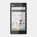 LG Optimus L9 P769 3D models