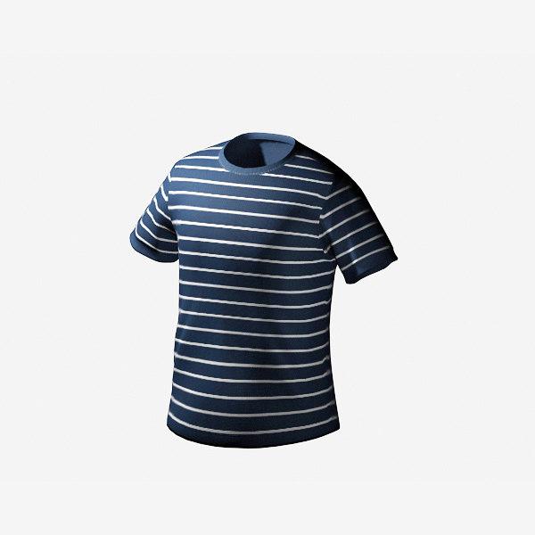 3d t-shirt striped shirt