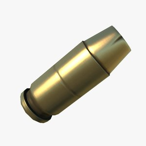 free preview 45 acp 3d model