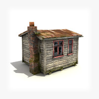 Small Wooden Building 2