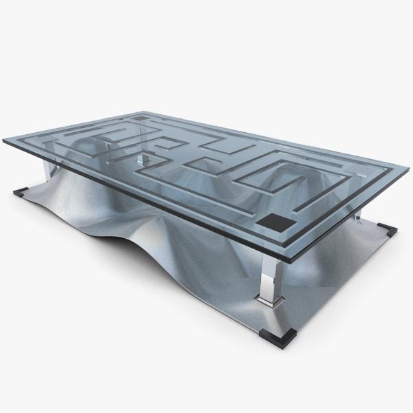 design coffee table 3d max