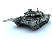 3ds max russian tank