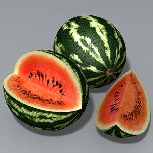 melon watermelon 3d 3ds