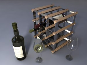 3ds max wine set