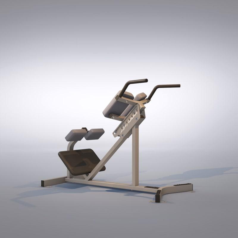 3d extension machine model