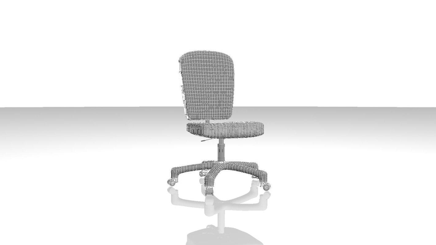 swivel chair 3d ma