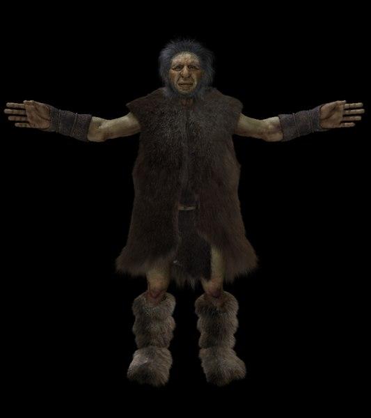 fbx neanderthal