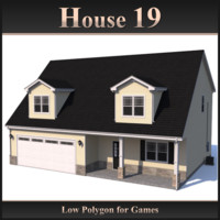 Low Polygon House 19