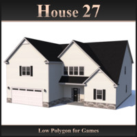 Low Polygon House 27