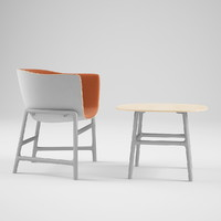 Minuscule Chair And Table
