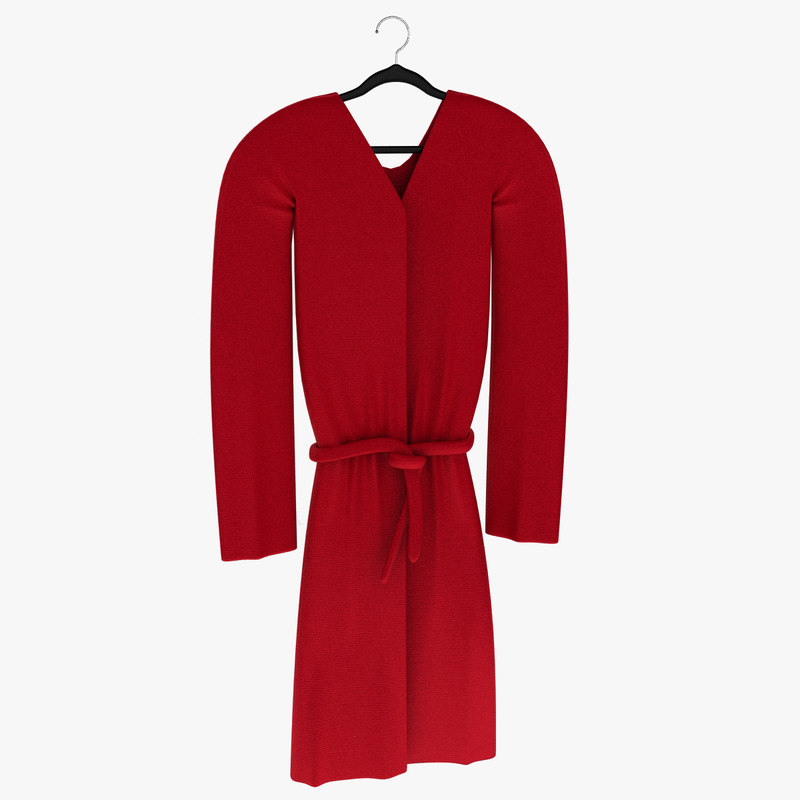 3d model men nightgown