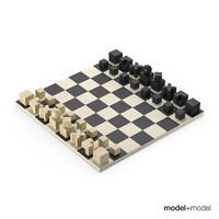 bauhaus chess set max