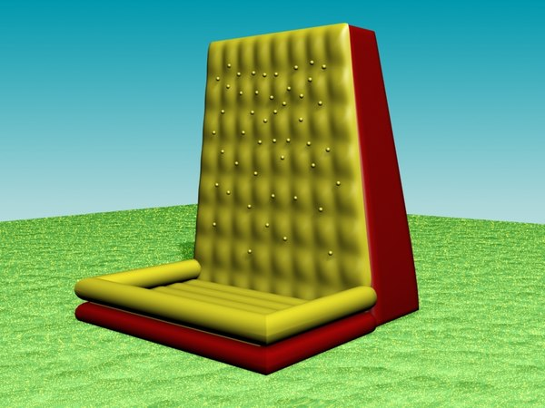 3d model inflatable wall