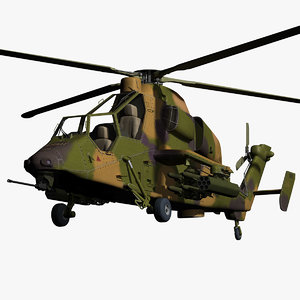 3ds max eurocopter tiger helicopter arh