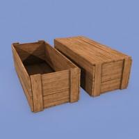 3d model vendor box