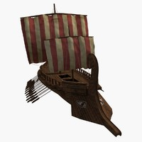 historical greek tertere 3d model