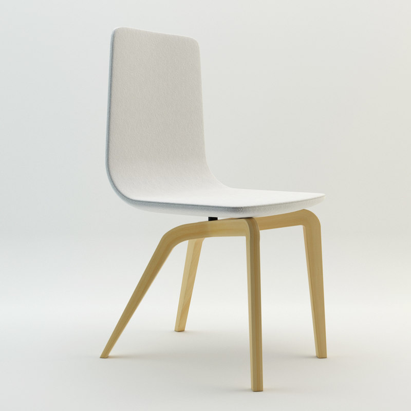 bamby chair 3d model