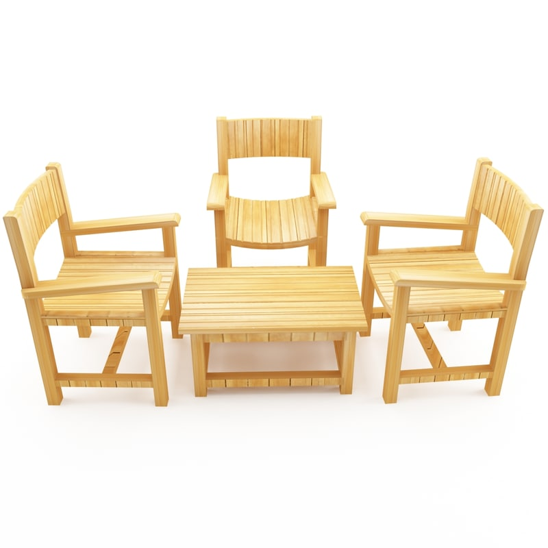 dxf table chairs