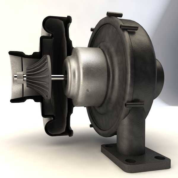 max turbocharger device section