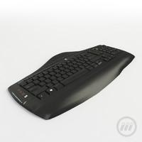 3d logitech keyboard